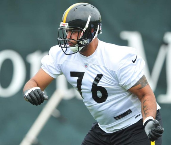 Steelers Release Offensive Tackle Mike Adams