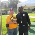Mike Tomlin with Russ Loede