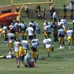 Steelers warm ups