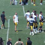 Ben Roethlisberger waits for a play