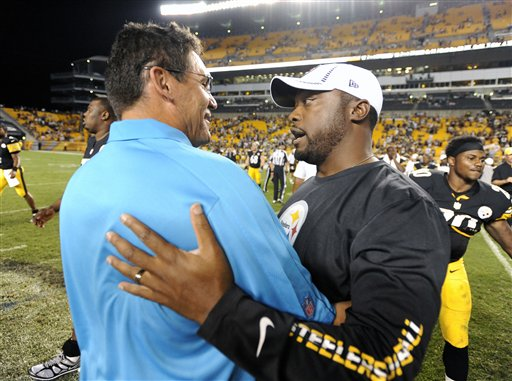 Mike Tomlin, Ron Rivera