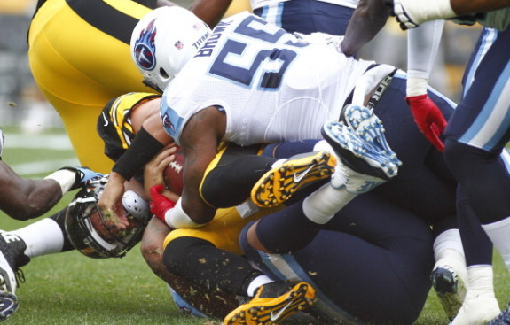 Tennessee Titans v Pitsburgh Steelers