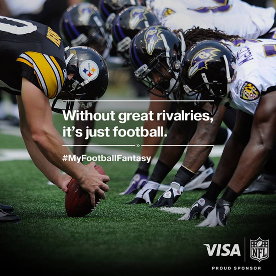 Visa Is Turning People's Football Fantasies Into Reality! #MyFootballFantasy
