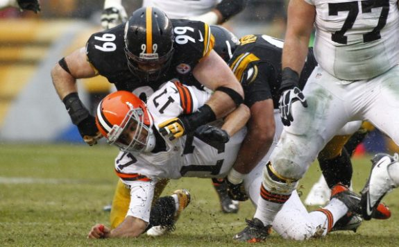 Steelers Wrap Up Regular Season 8-8 After 20-7 Beating Of Browns