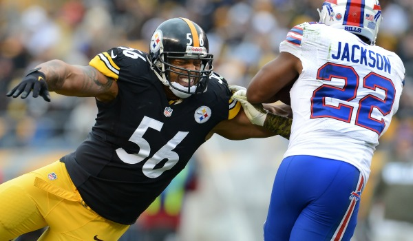 Reports are out saying Woodley is unlekey to be with the Steelers in 2014.