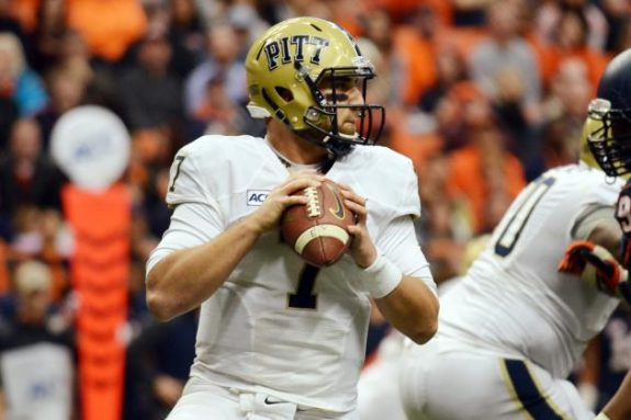 PITT Panthers QB Tom Savage - Photo: Heather Ainsworth