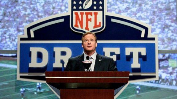 Roger+Goodell+NFL+Draft