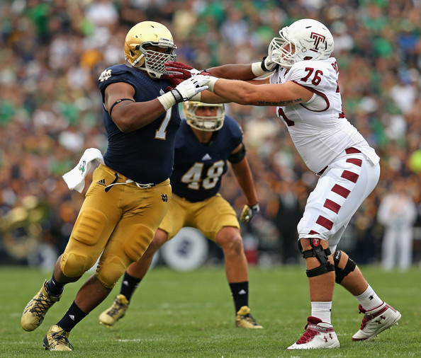 Stephon+Tuitt+DT+Notre+Dame+fightingirish