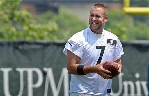 Ben+Roethlisberger+Pittsburgh+Steelers+2014+Minicamp
