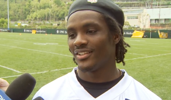 Dri+Archer+Steelers+Pittsburgh+OTAs+2014