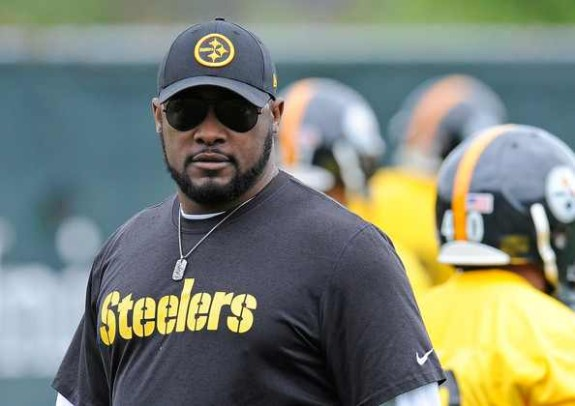 Mike+Tomlin+Pittsburgh+Steelers+Rookie+Mini+Camp+2014