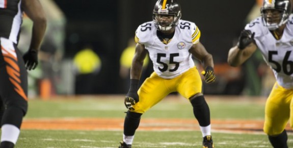 Steelers LB Kion Wilson waived, sign rookie CB Lew Toler