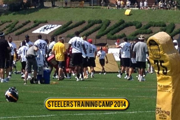 No real antics as new faces fill Steelers' 49th training camp Friday