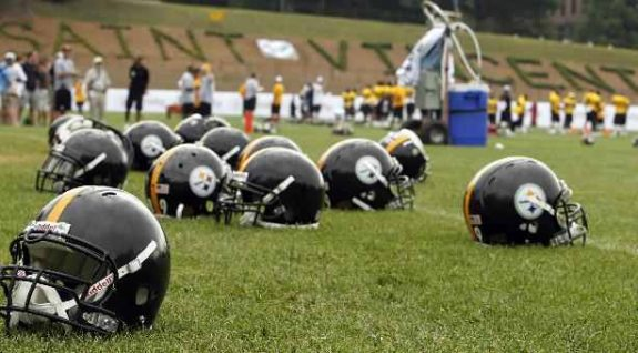 Steelers+Training+Camp+St+Vincent+College+Latrobe+PA