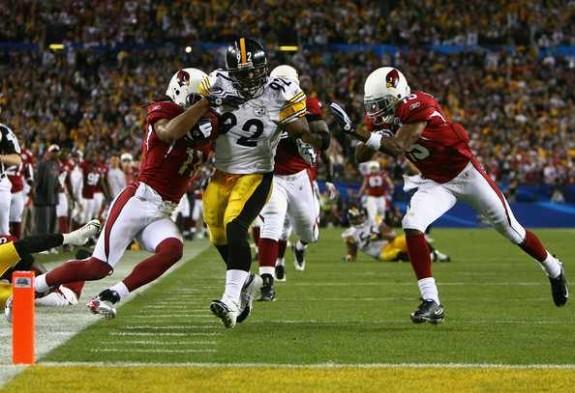 Super+Bowl+XLIII+James+Harrison+Interception+Touchdown+Steelers