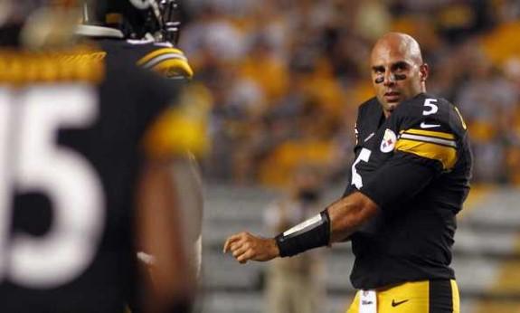 Pittsburgh Steelers quaterback Bruce Gradkowski