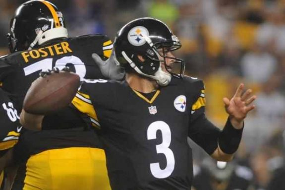 Landry Jones Steelers Quarterback