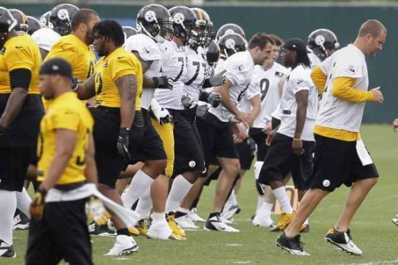 CBS' Pat Kirwan reports from Pittsburgh Steelers Training Camp