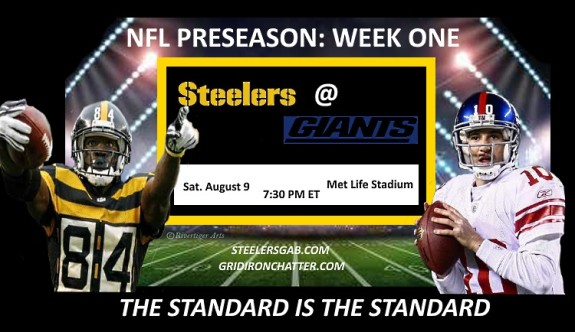 Expectations for Steelers over Giants in preseason game one simple: Win