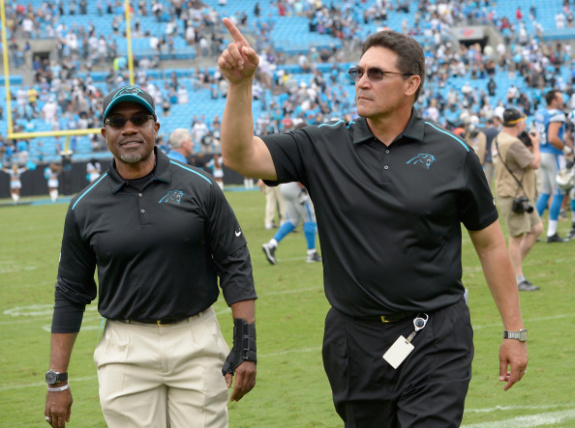 The Coaching Battle Between Mike Tomlin and Ron Rivera