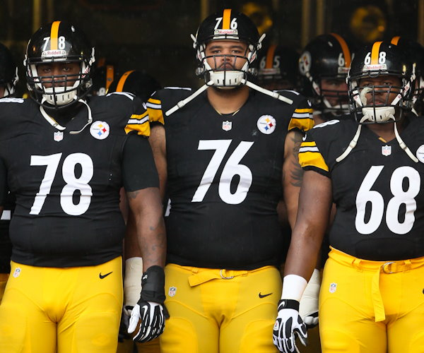 Steelers Offensive Line The Battle Of The Big Men Up Front