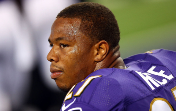 Ray Rice – New Footage Shows Knocked Out Now Wife With Punch