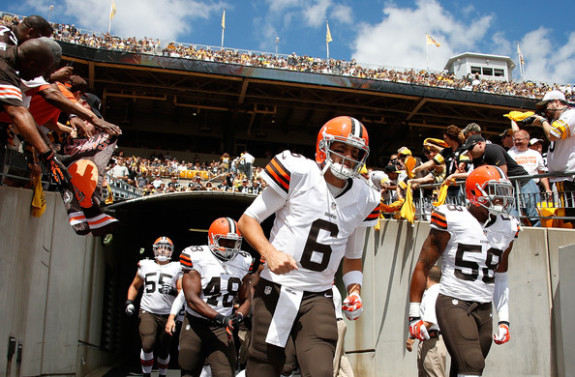 Brian+Hoyer+Cleveland+Browns+v+Pittsburgh+Steelers