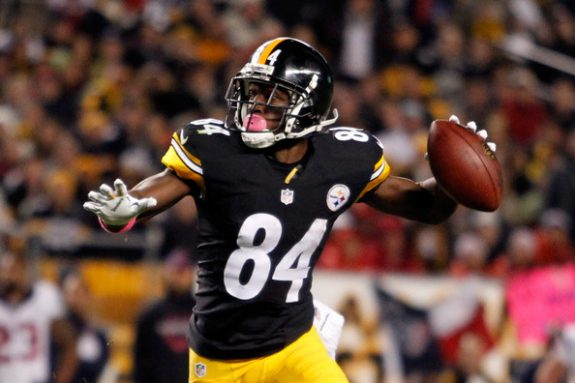 Report: WR Antonio Brown to Holdout