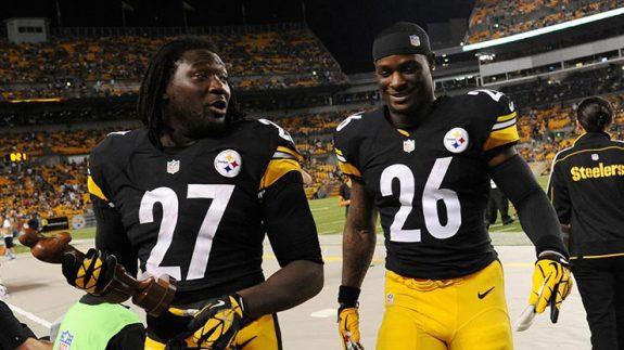 LeVeon+Bell+LeGarrette+Blount+2014+Pittsburgh+Steelers+Running+Backs