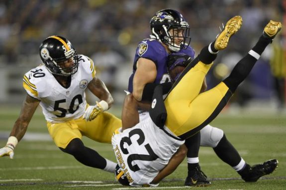 Mike+Mitchell+Safety+Pittsburgh+Steelers+vs+Baltimore+Ravens