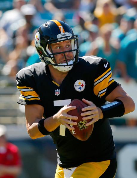 Pittsburgh+Steelers+v+Jacksonville+Jaguars+Ben+Roethlisberger