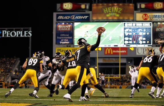 Ben+Roethlisberger+Baltimore+Ravens+v+Pittsburgh+Steelers+Nov+2+2014