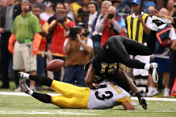 NFL Time Capsule:  Pittsburgh Steelers vs New Orleans Saints (Week 13)