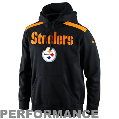 Steelers Fans Grab This Player Sideline Nailhead Performance Hoodie – On Sale!