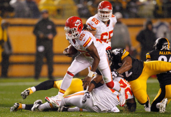 The Steelers Must Stop Dual-Threat Jamaal Charles