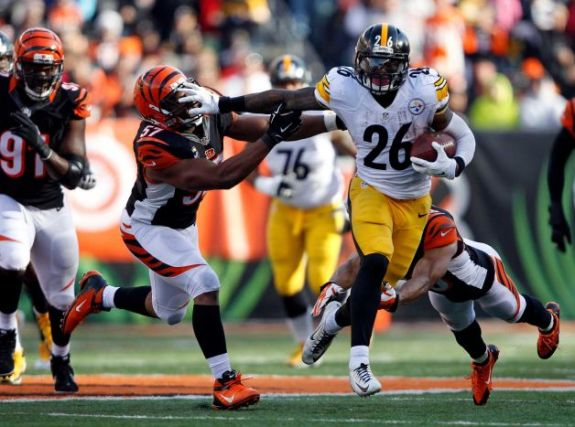 Le'Veon Bell's success against the Bengals is talk of NFL