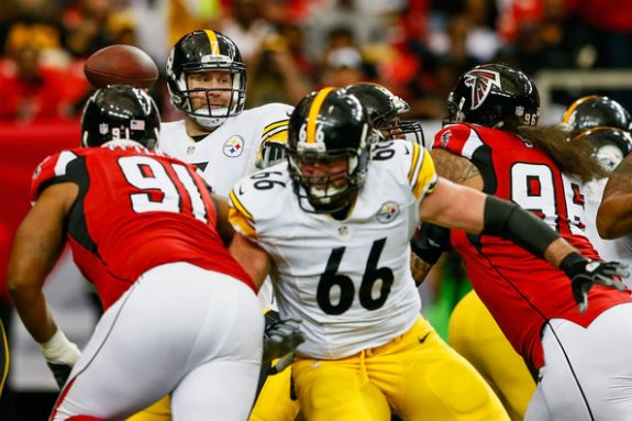 Steelers Offensive Line: Big Boys Put Up Big Performance Against Falcons