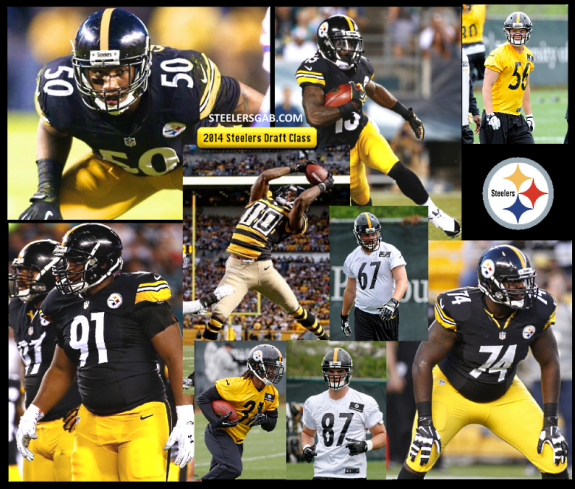2014+Pittsburgh+Steelers+Draft+Class+Rookies