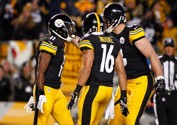 Ravens at Steelers NFL Wild Card Inactives