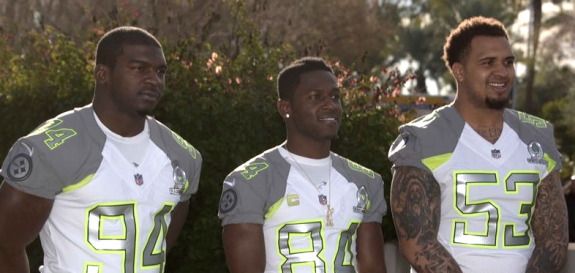 Shining Among The Elite: Pouncey, Brown and Timmons