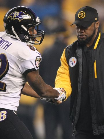Mike+Tomlin+Steelers+Smith+Ravens