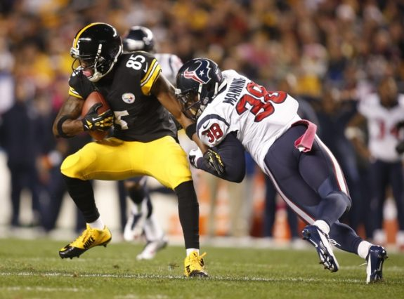 Receiver Darrius Heyward-Bey To Remain With Steelers In 2015
