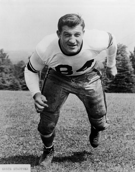American Football Player Ernie Stautner