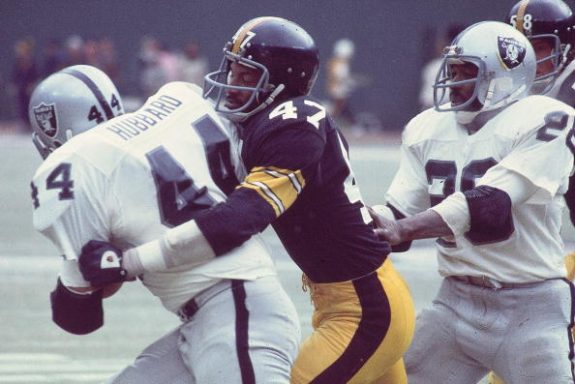 Pittsburgh Steelers Mel Blount, 1976 AFC Championship