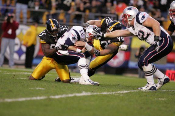 Pittsburgh Steelers Joey Porter & Travis Kirschke