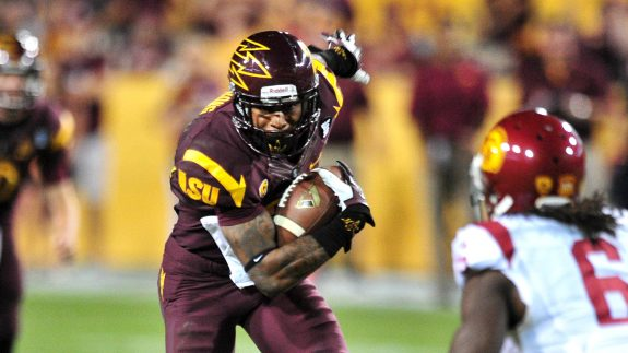 Steelers hosted Arizona State Wide Receiver Jaelen Strong on Friday