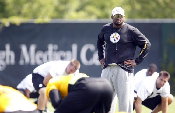 Steelers enter phase one of offseason program Monday
