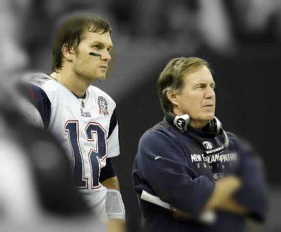 New England Patriots - Tom Brady and Bill Belichick photo: RTA Sports Photography, All Rights Reserved