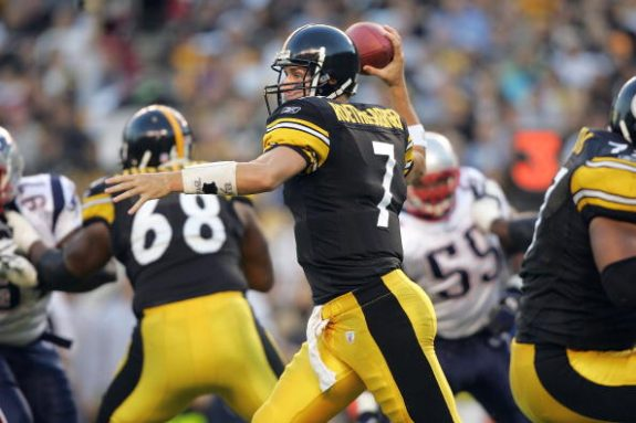 Roethlisberger and Heyward Ruled Out for Sunday Against Patriots