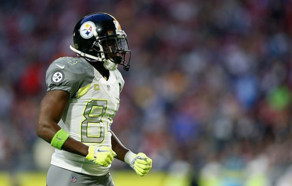 Steelers WR Antonio Brown Up For ESPY For 'Best NFL Player'